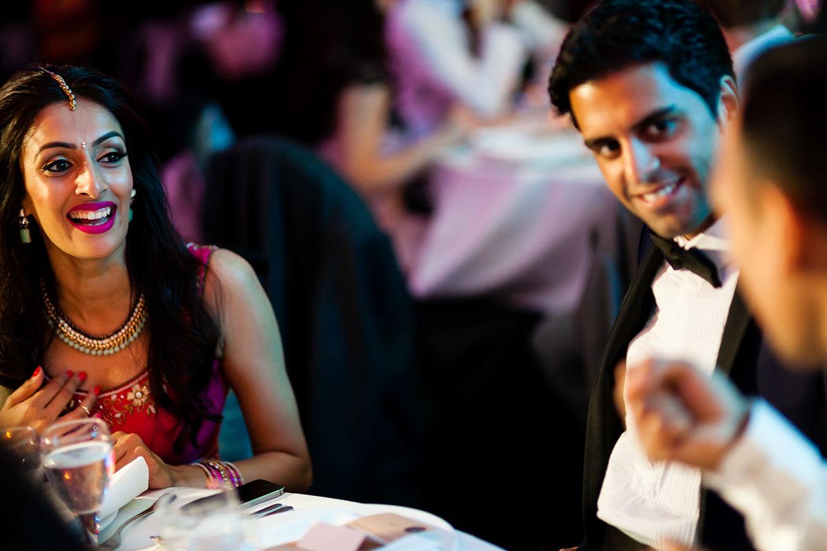 034 indian wedding reception photography london