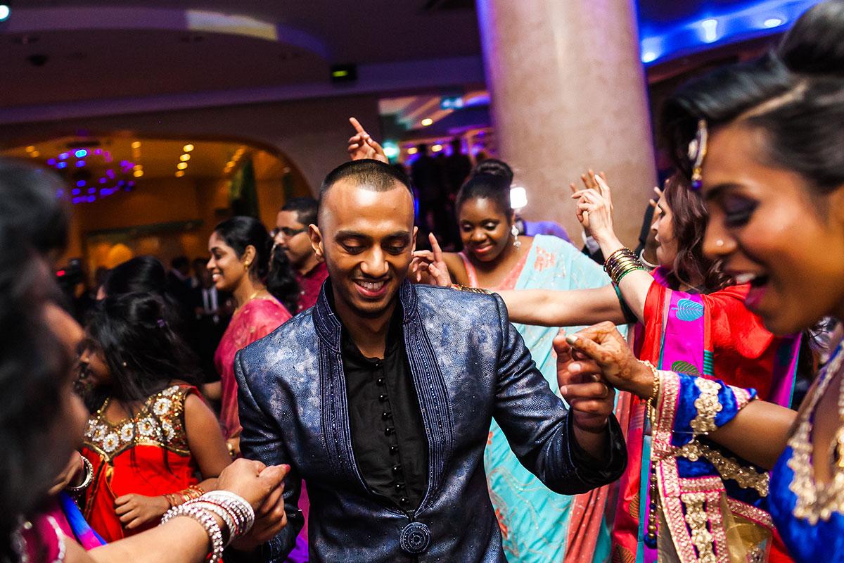 043 hindu wedding reception photographer south london