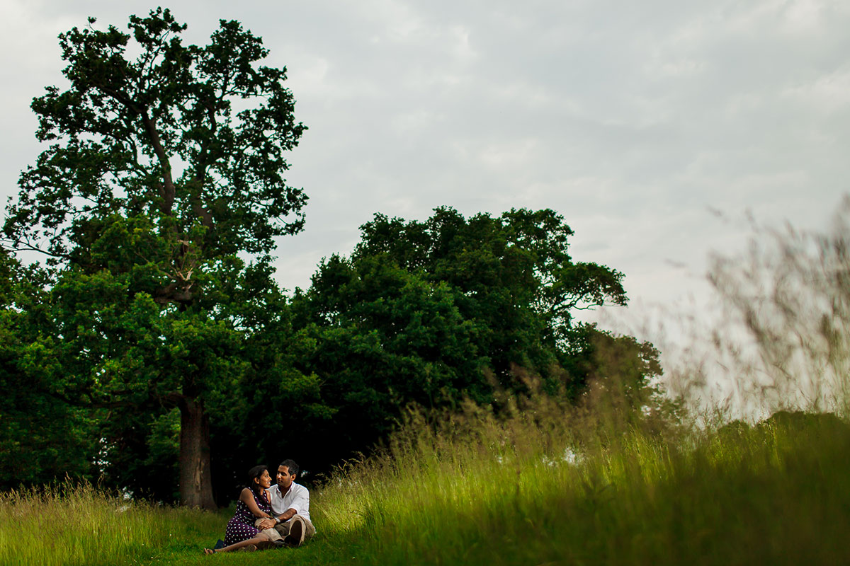 052 richmond park pre wedding photography