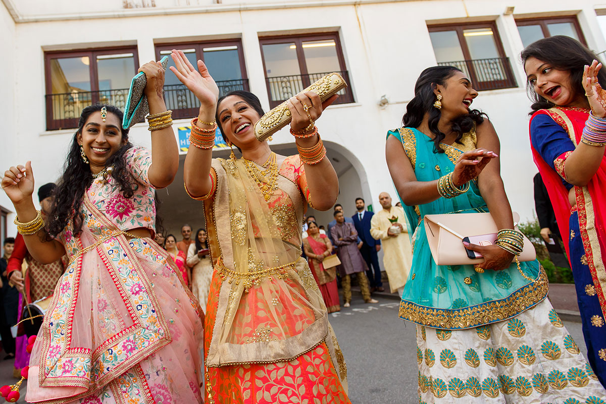 indian wedding photography copthorne hotel effingham gatwick by jermaine chandra 007