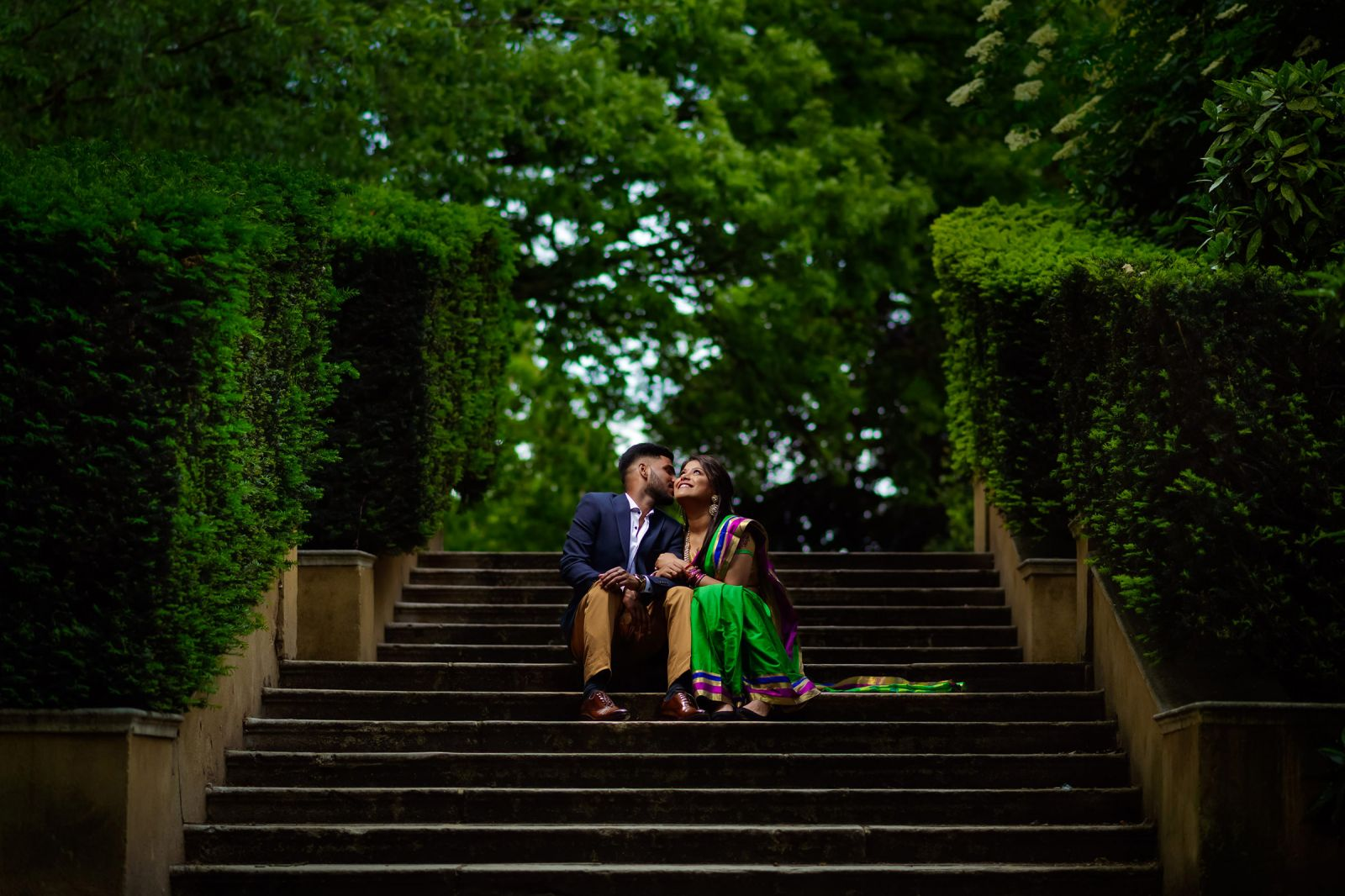 south indian pre wedding photography holland park london